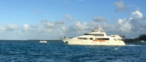 Travel to the Bahamas in a Boat